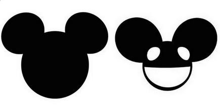 Mickey Mouse vs  Deadmau5  Trademark DisputeMickey Mouse Ears Png