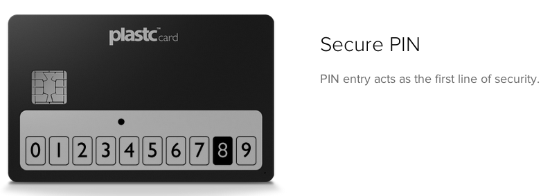 Plastc's security chip sets it apart from its competitors