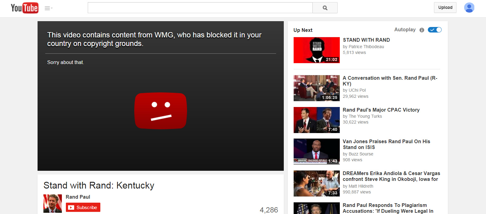 Presidential Nomination Video Copyright YouTube