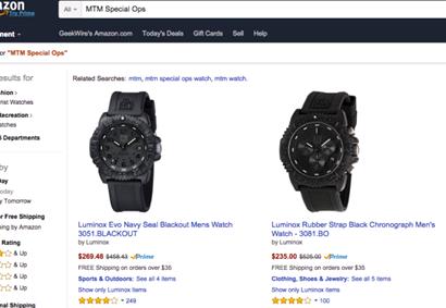 Court of Appeals Amazon Trademark