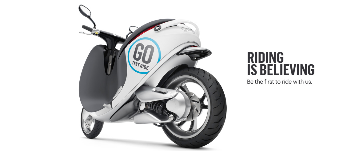 Gogoro Electric Scooter Startup Company