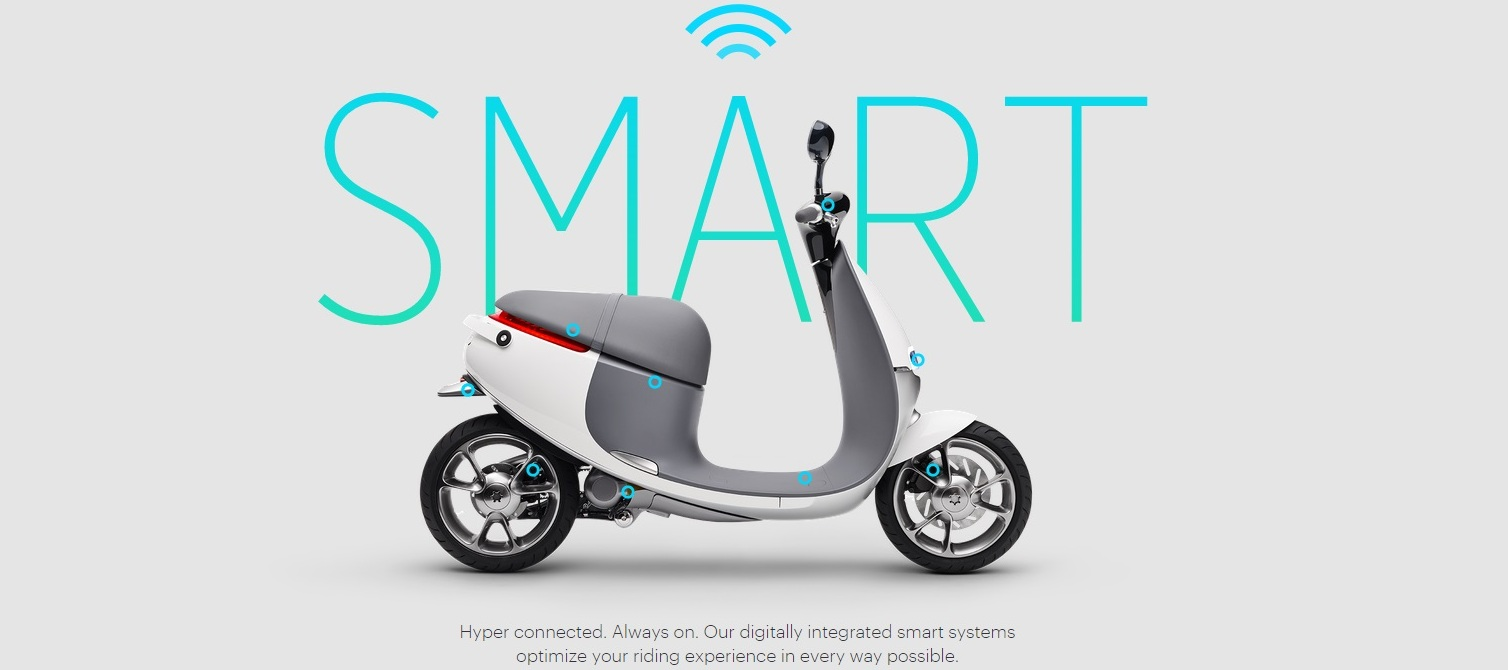 Rideable Scooter Startup Gogo