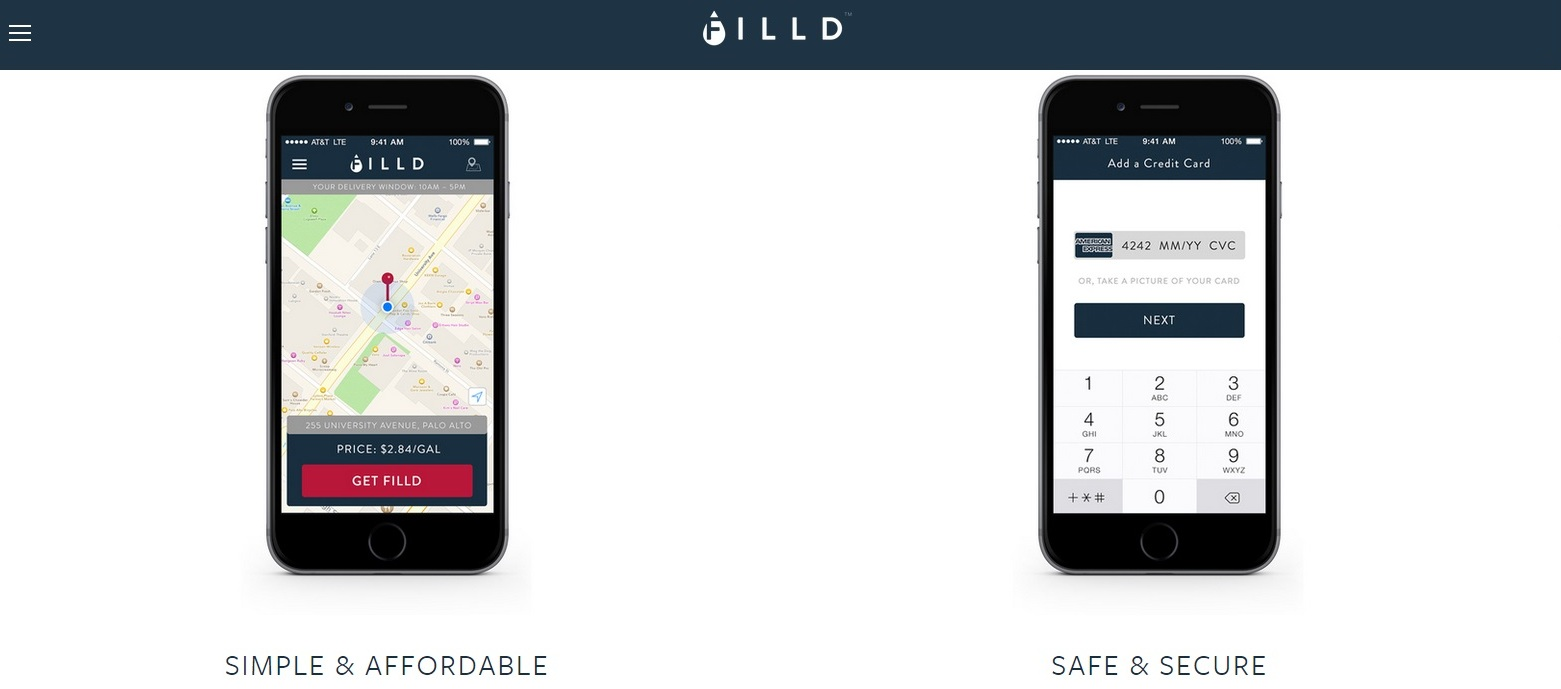 Filld Gas Delivery Startup Company